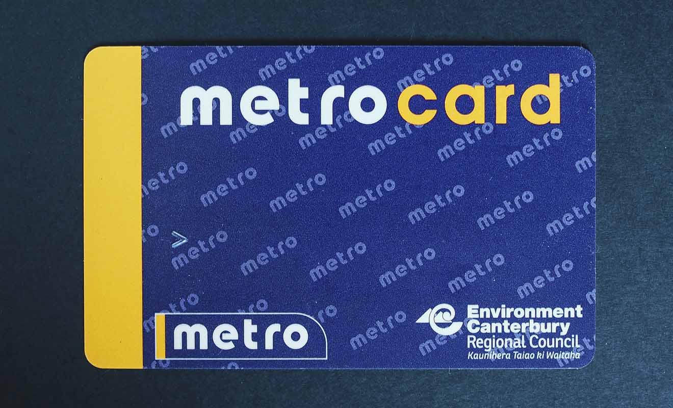 La Metrocard ne s'adresse qu'aux habitants de Christchurch ou aux voyageurs qui comptent visiter la ville intensivement depuis plusieurs jours.