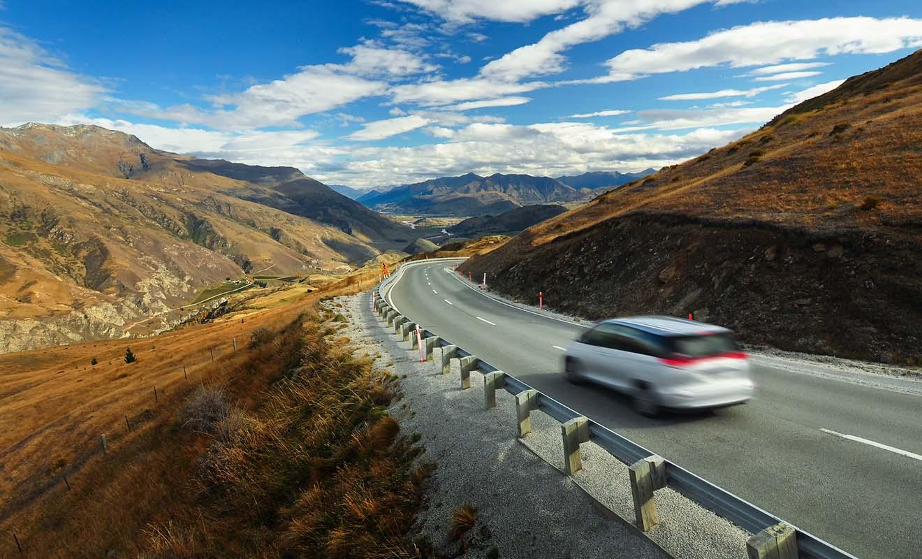 En réalité, le plus difficile est de rester concentré sur la route plutôt que sur le paysage !
