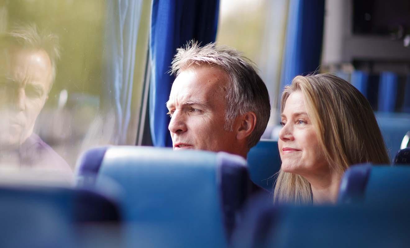 Si vous avez le mal des transport en général, le bus n'est sans doute pas adapté pour un long séjour.