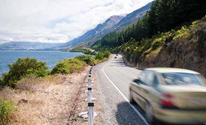 Contrairement à ce que l'on pourrait croire, la voiture est un moyen de transport beaucoup plus rapide que le train en Nouvelle-Zélande.
