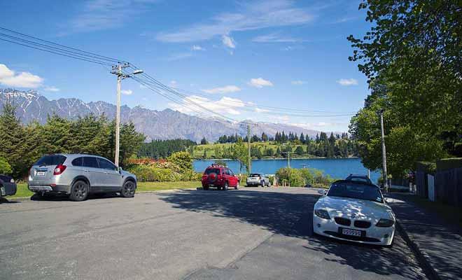 Il y a toujours de la place pour se garer en Nouvelle-Zélande.