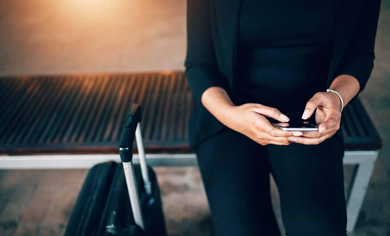 L'application mobile de Uber a besoin de se connecter à Internet pour fonctionner, mais encore faut-il pouvoir le faire depuis l'aéroport !