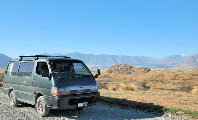 Le mini-van Toyota Hiace de Julie et Quentin a tenu sans problème la distance. Ce qui démontre bien qu'il est souvent préférable de mettre le prix pour avoir quelque chose de solide.