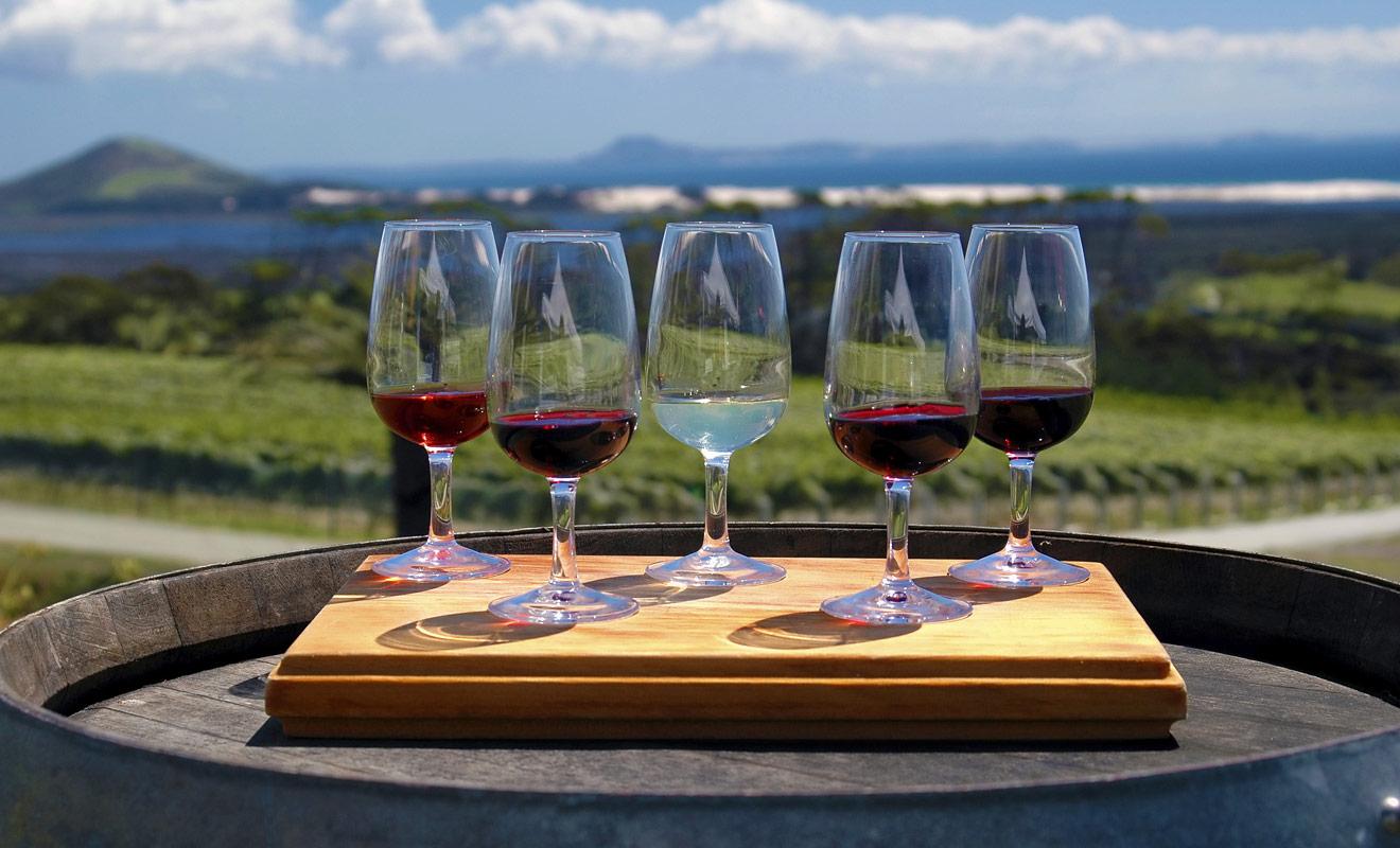 La réputation des vins néo-zélandais a mis des décennies à s'établir, car la production du pays n'avait pas bonne presse jadis, et l'éloignement du pays ne favorisait pas les exportations à l'international.