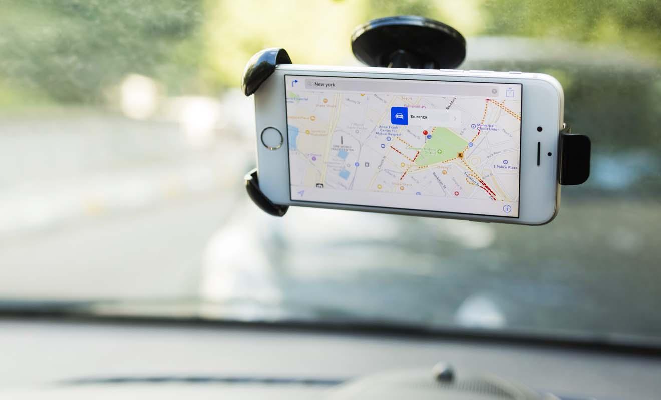 À moins que la carte de Nouvelle-Zélande soit chargée dans le téléphone, il vaut mieux éviter les applications GPS qui consomment beaucoup trop de données.