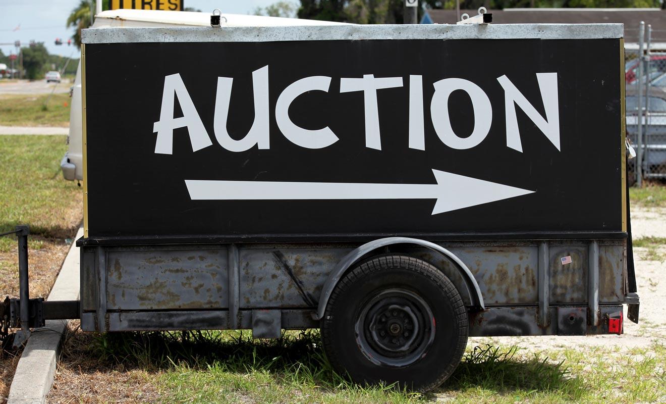 Si vous n'avez toujours pas trouvé preneur et que le départ approche, vous pouvez essayer les ventes aux enchères.