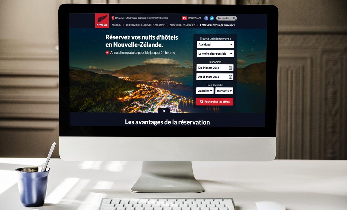 Contrairement aux agences de voyages qui ne permettent pas les changements d'itinéraire, vous pouvez annuler une nuit d'hôtel au profit d'une autre sur booking.com (dans la limite des offres disponibles.