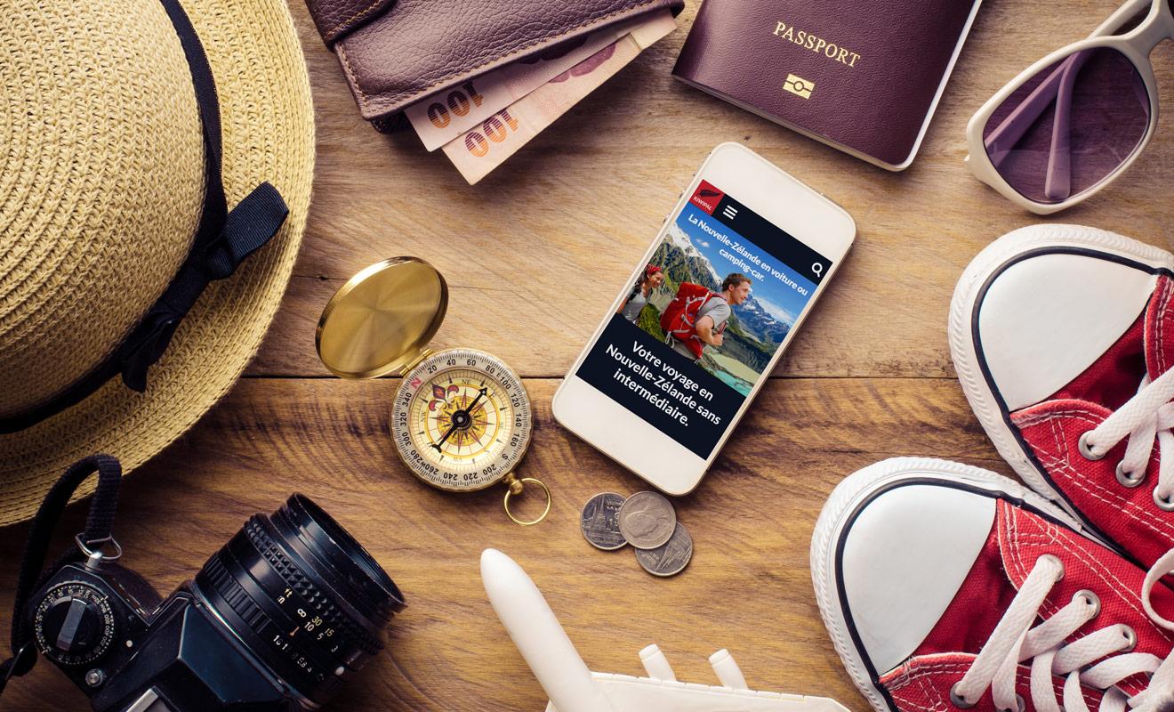 Ne pas recourir aux services d'une agence de voyages vous évite de payer des frais supplémentaires. Vous organisez vous-même le séjour le temps d'un week-end et vous pouvez vous inspirer des itinéraires et des conseils pratiques gratuits de Kiwipal.