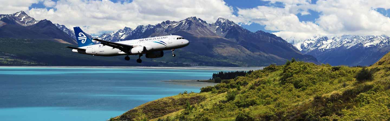 Les compagnies air new zealand, Singapour Airlines et Emirates.