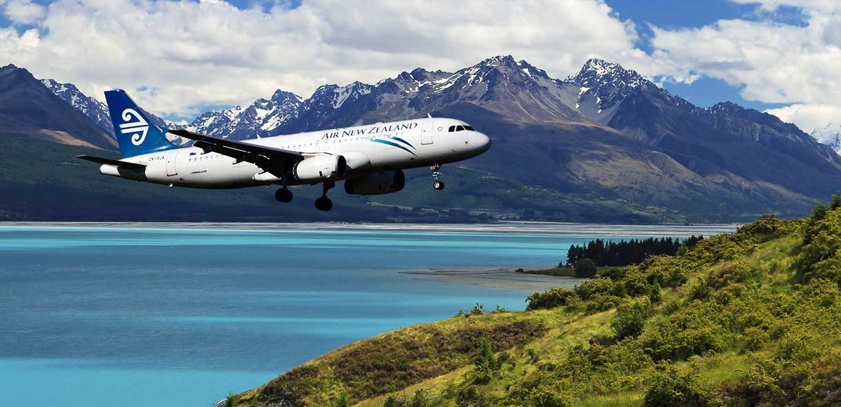 Les compagnies air new zealand, Singapour Airlines et Emirates.