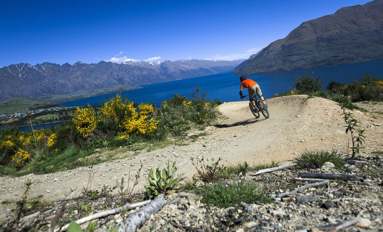 Avec des milliers de kilomètres de pistes de vélo dédiées aussi bien aux familles qu'aux passionnés de descentes rapides, la Nouvelle-Zélande fait figure de paradis pour les amateurs de ce sport.