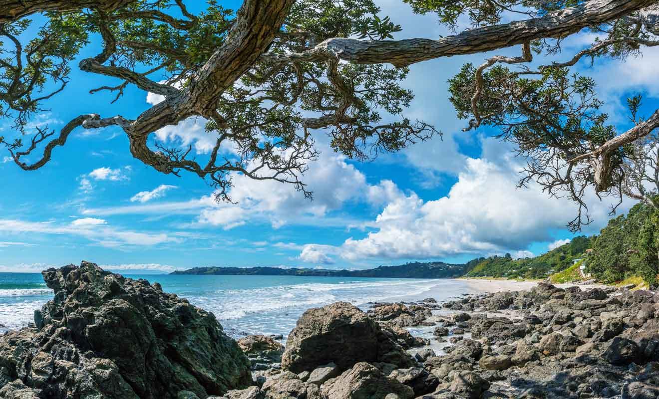Imaginez près de deux kilomètres de sable fin blanc !