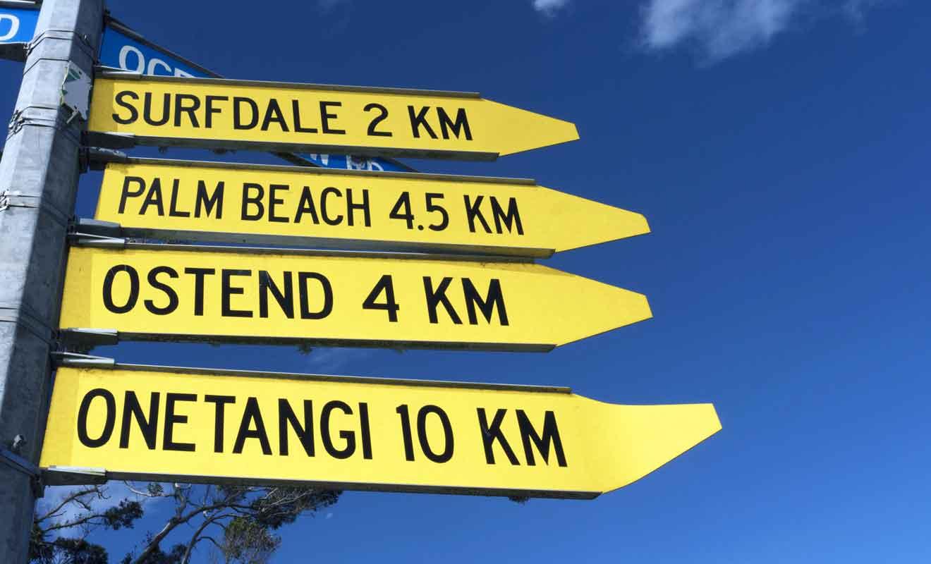 N'imaginez pas visiter toute l'île à pied, car il faut disposer d'un moyen de transport pour explorer les parties les plus éloignées.