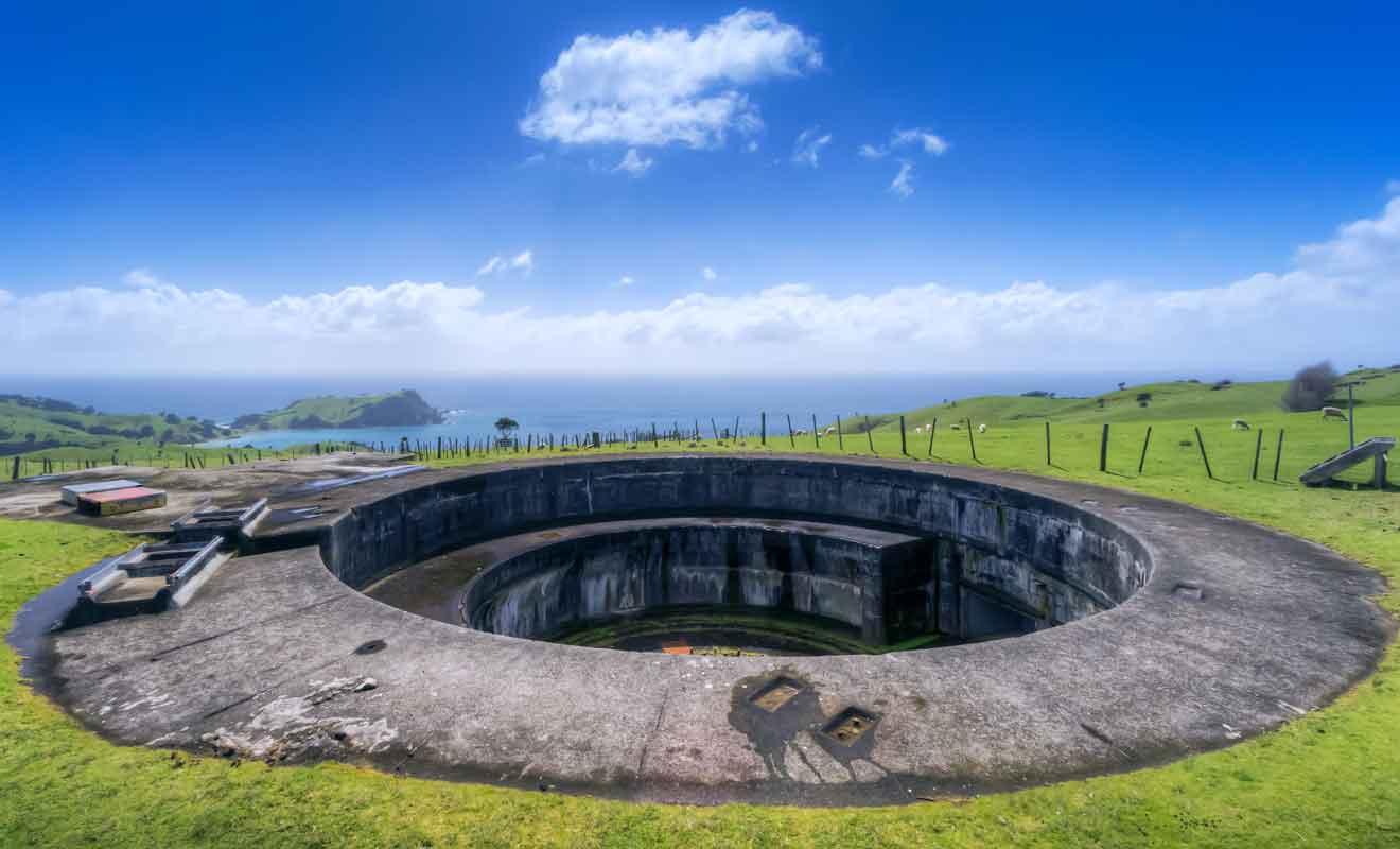 Un réseau de tunnels de plusieurs kilomètres a été construit en 1942.
