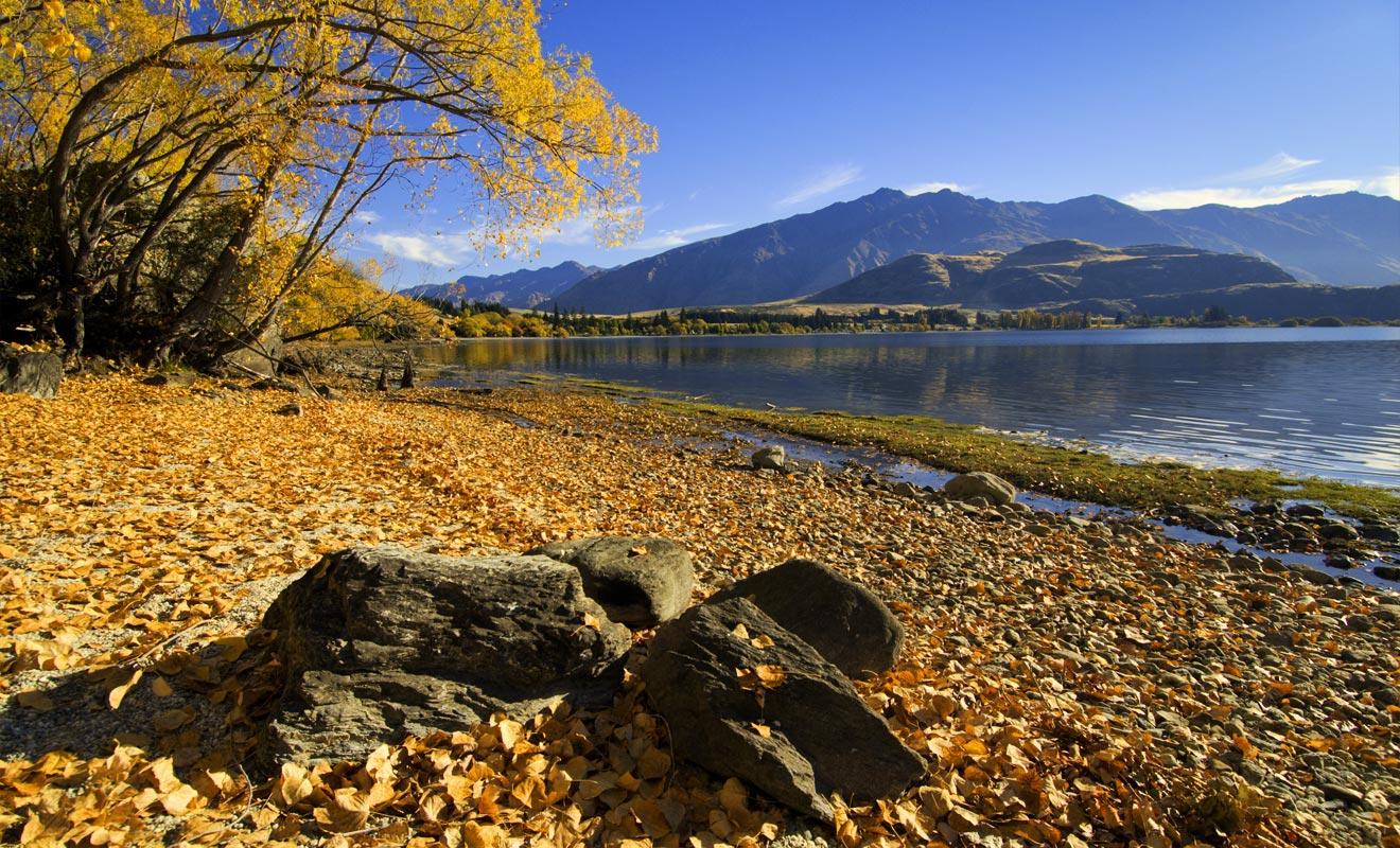 L'automne est une saison plus calme en matière de tourisme. Les paysages n'en sont pas moins somptueux avec la chute des premières feuilles.