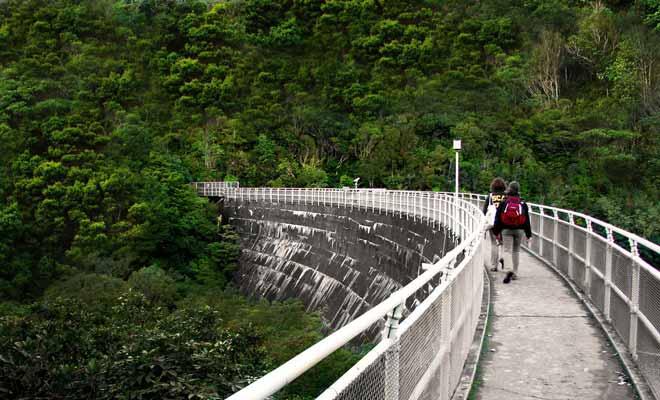 Le sanctuaire Karori de Zealandia a été aménagé dans les anciens réservoirs de la ville de Wellington. L'ensemble est parfaitement isolé du reste de la ville et possède même un lac.