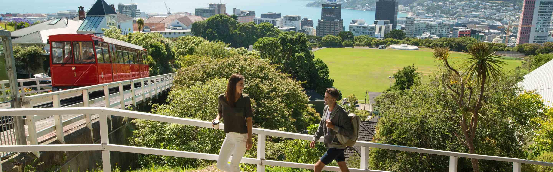 Wellington se situe dans la région du même nom sur l'île du Nord.