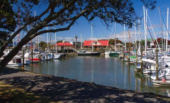 Whangarei a toujours été une escale de rêve pour les navigateurs durant la saison des cyclones, car les voiliers y sont à l'abri et le climat est très agréable.