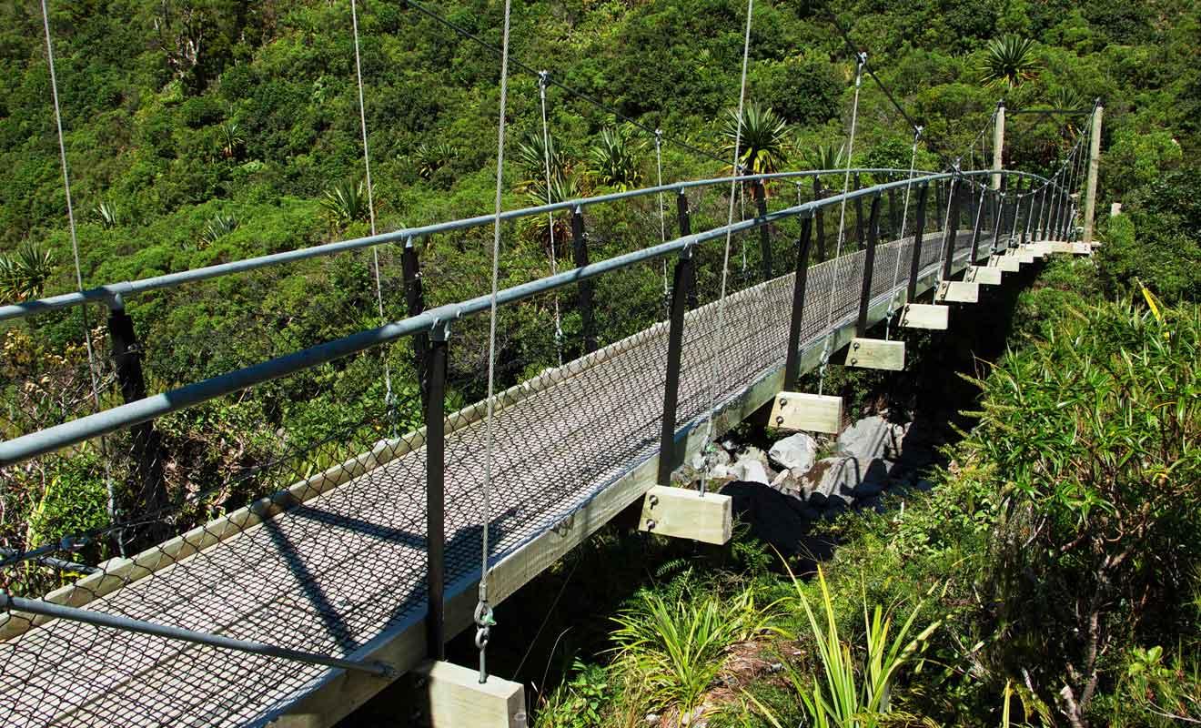 Aucune raison d'avoir peur, les ponts sont solides !