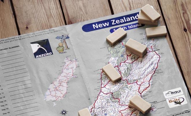 De Kiwipalgidsen houden rekening met afstanden om redelijke weguitstappen voor te bereiden.