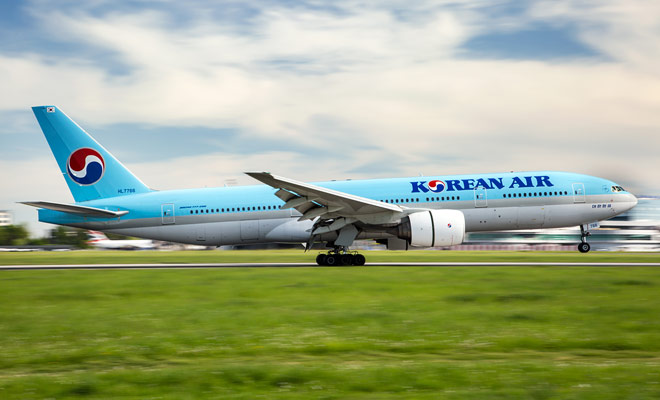 Korean Air vuelos a Nueva Zelanda aterrizan en Seúl. La proximidad del centro de la ciudad hace posible descubrir la ciudad si la parada dura entre 4 y 6 horas.