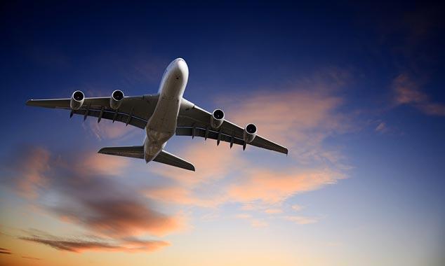 A380 che decolla per la Nuova Zelanda.