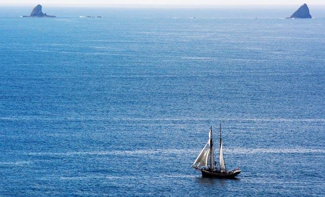 Om naar Nieuw-Zeeland te komen was het noodzakelijk om bijna vier maanden van Europa te varen. Veel zeilers overleefden niet.
