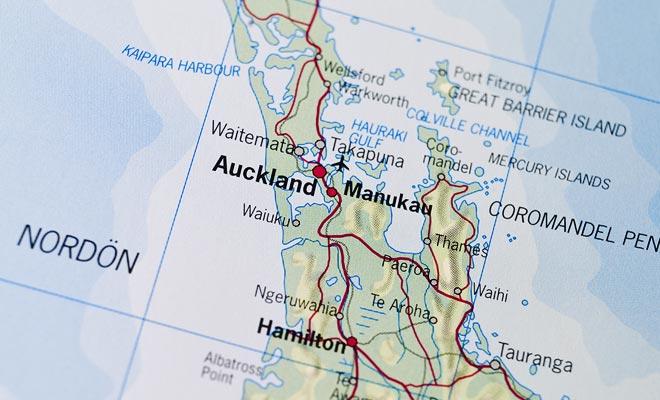 Let op, Auckland is vooral een hele regio van het land en niet alleen een stad. Onroerend goed advertenties kunnen misleidend zijn.