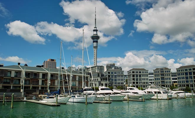 Westhaven Marina tiene 2000 literas, pero hay casi 135.000 buques, barcos y barcos de vela atracados en toda la región de Auckland.
