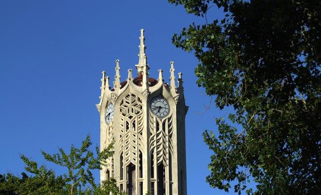 Esta torre que encajaría bien en una película de Harry Potter está inspirada en un modelo de Oxford.