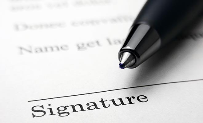 Como siempre antes de firmar un contrato y comprometer su responsabilidad, se recomienda leer atentamente los términos.