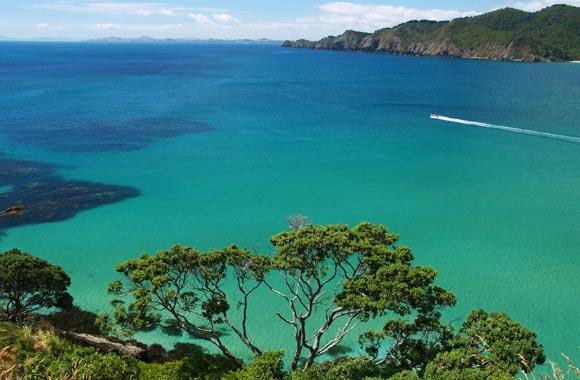 Bay of Islands is bekend om zijn dromerige landschap en zijn paradijselijke eilanden. Het is ook de zonnigste regio in het land.