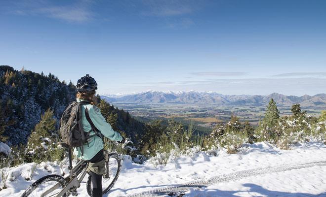 Como Nueva Zelanda tiene una reputación de tener un clima muy inestable, se recomienda que estudiar cuidadosamente el pronóstico del tiempo antes de embarcarse en un tour de ciclismo importante.