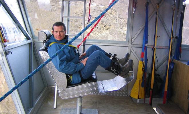 El ser humano no está programado para arrojarse al vacío, y la gran mayoría de los candidatos para el bungee jumping tienen miedo antes de saltar. Es todo natural y es parte del juego.
