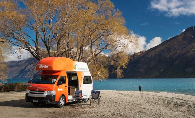 U moet een aantal DOC-campings in de reisroute van uw campertocht opnemen. Deze Nieuw-Zeeland campings zijn vaak prachtig en ze helpen om geld te besparen op uw vakantie budget.