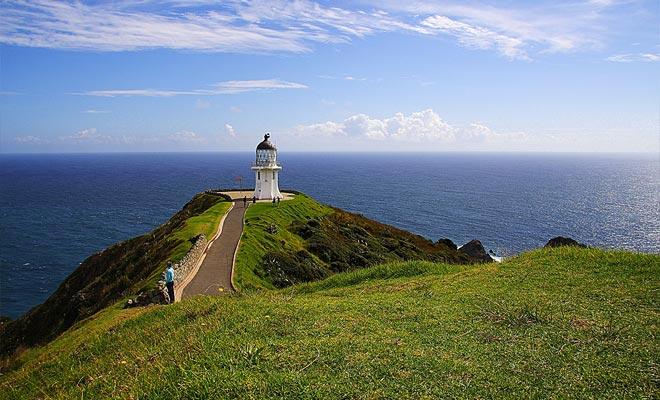 La punta de la Isla Norte no está habitada, pero el número de turistas ha ido aumentando constantemente durante años. Se estima que el Cabo recibe 400 visitantes por día.