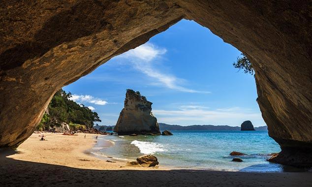Viaje en diciembre y llegará en pleno verano de Nueva Zelanda.