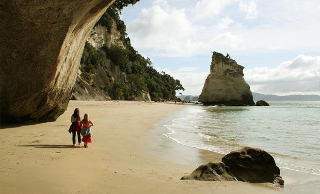 La playa es tan famosa que aparece en el cine en la secuela del Mundo de Narnia: el Príncipe Caspian.
