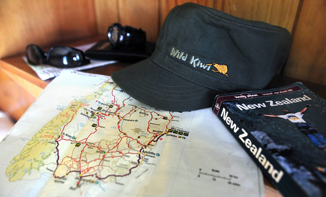La red de carreteras de Nueva Zelandia puede parecer simple a primera vista, pero si un mapa de carreteras es suficiente, el ideal sigue siendo utilizar un GPS.