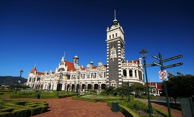La estación central ganó a su arquitecto el apodo de George Gingerbread.