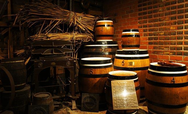 La ciudad de Dunedin fue fundada por escoceses y el Museo de los colonos traza su aventura a través de hermosas reconstrucciones históricas.