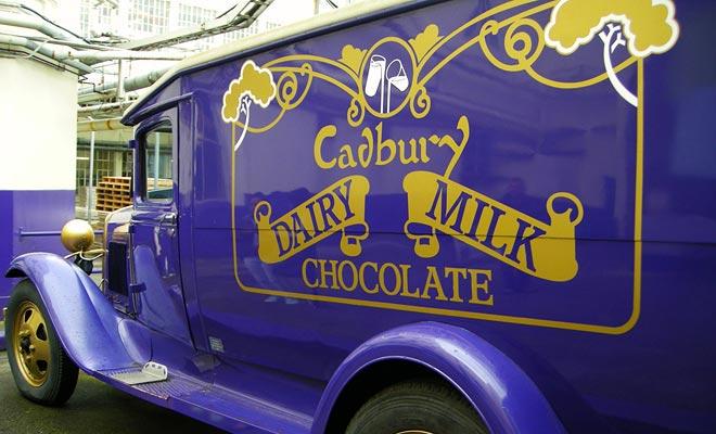 La fábrica de chocolate Cadbury que patrocina la carrera de Jaffas está abierta a los visitantes.