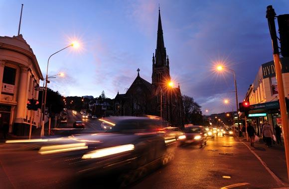 Opgericht door de Schotse kolonisten, werd Dunedin opgericht in 1848 als een eerbetoon aan de stad Edinburgh. Zijn naam betekent