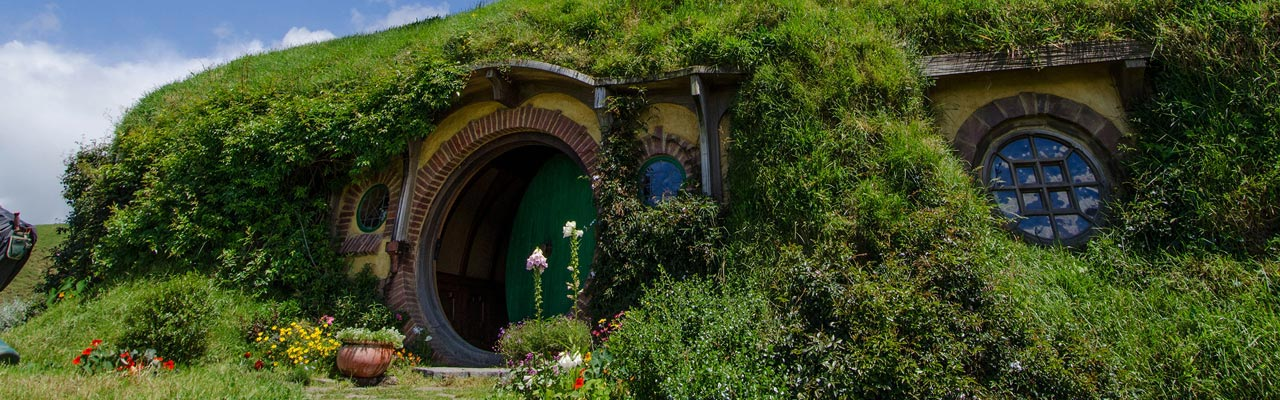 Bag End is the home that Frodo heritates from Bilbo.