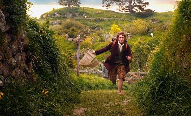 De set was afgebroken na het schieten van de Heer der Ringen. Maar het was volledig herbouwd voor de Hobbit-trilogie.