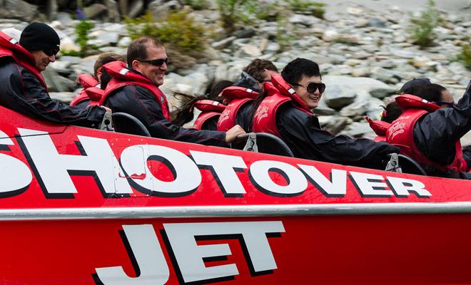 El jetboat es sobre todo una atracción que estaba destinado a dar sensaciones a los pasajeros. La experiencia es inolvidable.