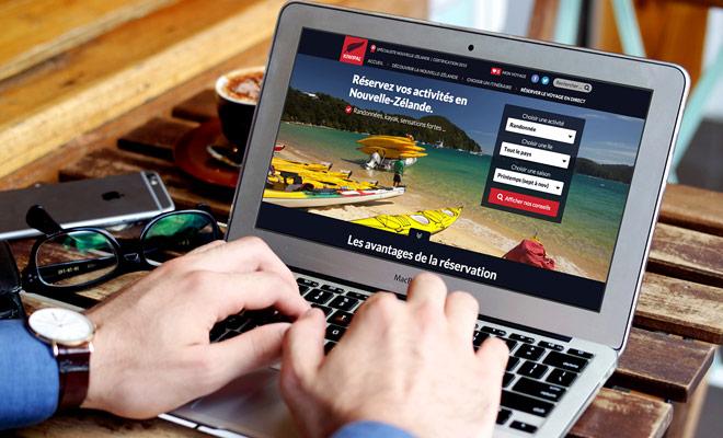 Kiwipal le aconseja y le da gratuitamente toda la ayuda para reservar sus actividades onlinet. Ya no necesitas una agencia de viajes y ahorras dinero.