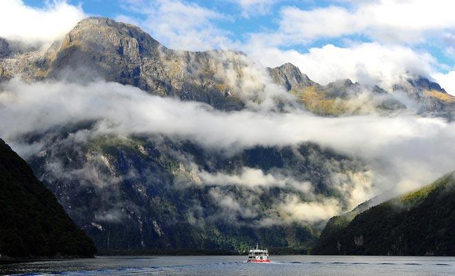 Resultado de la superposición de dos placas tectónicas, Nueva Zelanda es la parte sumergida de un enorme continente submarino llamado Zealandia.