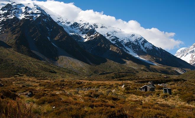 Los viajeros que completan su visita en la Isla del Sur se dirigen a Christchurch. Mount Cook es la penúltima etapa antes de salir de los kiwis.