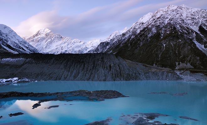 Se distribuyen formularios de satisfacción a los turistas que salen de Nueva Zelanda. La votación media es de 9 sobre 10. Sólo la gastronomía es un poco menos apreciada con un puntaje de 7 de cada 10.